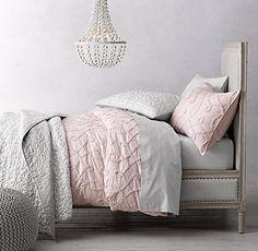 Ruffled Arabesque Bedding Collection | RH Baby & Child