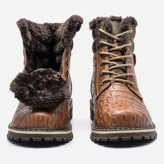 Size Genuine Leather Handmade Plus Size Warm Cow Split men Winter Snow… Mens Winter Boots, Winter Snow Boots, Leather Men, Combat Boots, Cow, Handmade, Warm, Shoes, Free