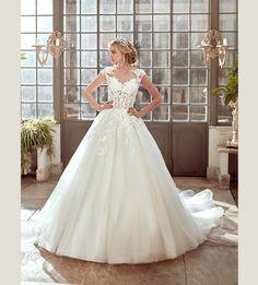 Fashion bride 2017 - Collection NICOLE.  NIAB17072. Wedding Dress Nicole.