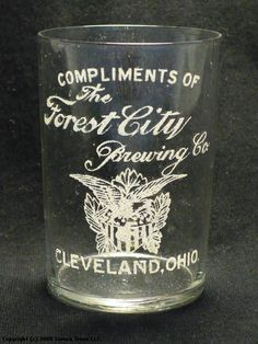 Forest City Brewery, Cleveland, OH, 1910 Cleveland Baseball, Cleveland Rocks, Cleveland Ohio, Beer Pics, Beer Pictures, Willoughby Ohio, The Buckeye State, Forest City, County Seat