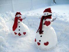 Staten Island Snowmen