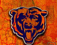 Chicago Bears, Da Bears, Monsters of the Midway, Chicago, Illinois, NFL, Super Bowl, Football, Map, Vintage, Bears, Birthday, Christmas,Gift - Edit Listing - Etsy