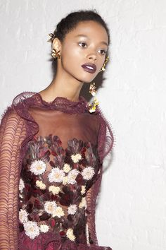 Backstage at Rodarte Fall 2016 - -Wmag