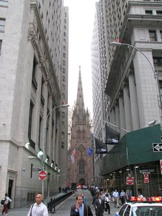 TrinityChurch_and_WallStreet  worked in this area for years near wall Street & Old WTC