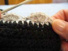 Puntilla N° 62 en tejido crochet tutorial paso a paso. - YouTube
