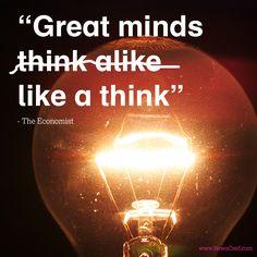 "like a think"" Disruptive Innovation, Economics Books, Social Entrepreneurship, Marketing Quotes, Churchill, Content Marketing, Leadership, Psychology, Wordpress"