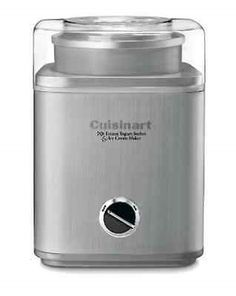 Ice Cream Makers 20676: Cuisinart Kitchen Automatic Counter Top Frozen Yogurt Sorbet Ice Cream Maker -> BUY IT NOW ONLY: $89.71 on eBay!