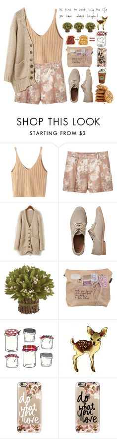 """""""it's time to start living the life you have always imagined ♡♡"""" by preciouspearll ❤ liked on Polyvore featuring WithChic, MANGO, Styleberry, Gap, Pier 1 Imports, Casetify, Grace, oxford, fashionset and Packandgo"""