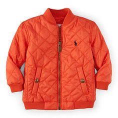 Quilted Baseball Jacket - Baby Boy Outerwear & Jackets - RalphLauren.com