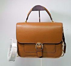 c6ea42c4c438 NWT MICHAEL Michael Kors Brown Leather Cooper Large School Satchel Shoulder  Bag #MichaelKors #Satchel