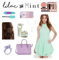 """Lilac and Mintx"" by val4styles ❤ liked on Polyvore featuring Sophia Webster, Henri Bendel, Casetify, Lulu*s, Charlotte Russe, colorchallenge and lilacandmint"