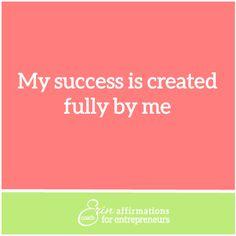 Affirmations for Self Employed Women Entrepreneurs from Coach Erin #ecoacherin #coacherinsaffirmations #womanbusinessowner affirmations for women business owners http://www.ecoacherin.com/insights