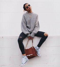 "parisfashionn: ""• Sweater • Pants """