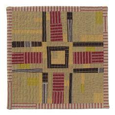 Folk Art Cross Quilt No.2 by BooDilly's, via Flickr