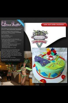 """Samba Design   Corso cake designer Lilliam Buffet e Corcovado ristorante churascarria   presentano """"Work shop Samba cakedesign"""" L'evento si svolgerà il giorno 22/02/2013 e 24/02/2013 presso il ristorante Corcovado a Vinovo in via Viale Piemonte, 12,10048 Vinovo (TO) Tel. 011 9656380 dalle ore 16:00 alle 19:30 ore e verrà tenuto da Liliam della Liliam Buffet cake design.  Il programma dell'evento sarà il seguente: - teoria sugli impasti, le coperture e le farciutre più adatte alle torte…"""