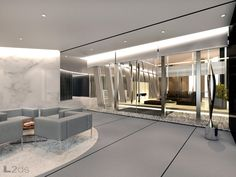 Architecture and Interior Design – Penthouse art gallery, office and residence
