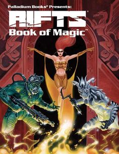Rifts® Book of Magic - Palladium Books | Rifts | DriveThruRPG.com