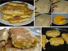 A quick and tasty Breakfast. Pancakes, French Toast, Tasty, Breakfast, Recipes, Food, Cooking, Morning Coffee, Recipies
