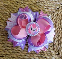 Mi pequeño Pony de pelo arco-Pinkie Pie por 3princessesfrog en Etsy