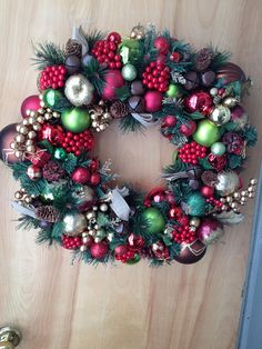 This beautiful holiday wreath is looking for a home! Though I am striving to use primarily upcycled materials in my art, in order to complete this wreath I had to purchase some artificial flora. I am madly in love with how this one turned out. If you're interested or know someone who would be interested, send them to my etsy account and the wreath can be all theirs! #christmaswreath #upcycled #upcycledart #wreath #handmade