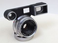 Leica Summaron 35mm f=2.8 lens with finder m mount extremely nice must see