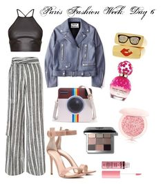 """""""Paris Fashion Week: Day 6"""" by courtney-anne2 ❤ liked on Polyvore featuring Miss Selfridge, Gianvito Rossi, Acne Studios, Marc Jacobs, Guerlain, Bobbi Brown Cosmetics and Charlotte Russe"""