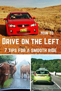 Don't know how to drive on the left? A few simple tips will help take away the tension an enable you to enjoy a road trip in Australia or the UK/Ireland!