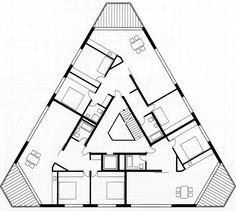 BDZ housing development, Zurich (2013), pool Architekten