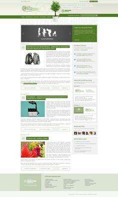 Layout para o Blog da Seguradora MAFRE