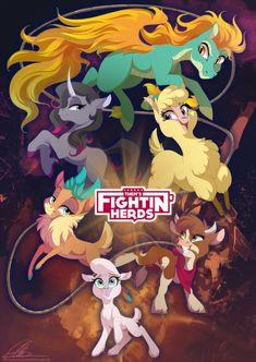 Them's Fightin' Herds by dennybutt.deviantart.com on @DeviantArt