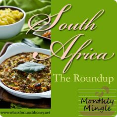 South African cuisine - a delicious Biltong Potjie for the Monthly Mingle at What's For Lunch, Honey? South African Dishes, South African Recipes, Indian Food Recipes, Ethnic Recipes, My Favorite Food, Favorite Recipes, Food Out, Food Menu, Recipe Collection