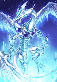 Stardust Dragon - Yu-Gi-Oh! Yu Gi Oh, Resident Evil, Dragon Mobile, Types Of Dragons, Yugioh Monsters, Anime Wolf Girl, Dragon Artwork, Monster Cards, Naruto Shippuden Anime