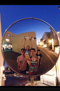 O2l walking by the old apartment.