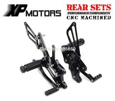 99.68$  Watch now - http://aliiuh.shopchina.info/1/go.php?t=32436127338 - Black CNC Billet Foot Control Kit Rearset Rear Sets For Honda CBR600RR 2003 2004 2005 2006 CBR1000RR 2004 2005 2006 2007  #buychinaproducts