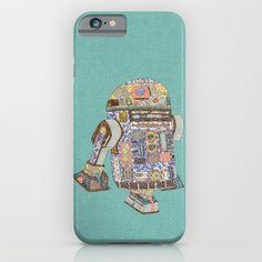 R2D2 crashed into a flower shop iPhone & iPod Case