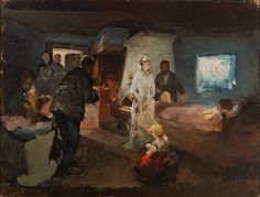 Study [...] by Maximilián Kurth, 1890. Slovak national gallery, CC BY