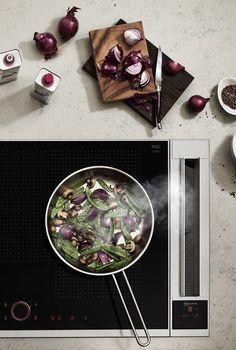 Der Kochfeldabzug von NEFF zieht den Kochdunst schnell ab. Bei jedem Gericht!