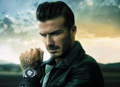David Beckham wrist watch