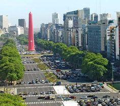 Buenos Aires obelisc w a CONDON