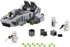 LEGO Star Wars The Force Awakens - 75100 First Order Snowspeeder #LEGO #LEGOStarWars #StarWars #TheForceAwakens #StarWars7