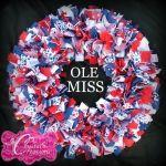 Ole Miss Wreath
