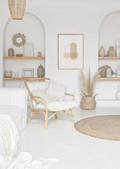 Mid Century Decor, Mid Century House, Boho Living Room, Living Room Decor, Pastel Living Room, Bohemian Living, Decorating Your Home, Diy Home Decor, Pastel Home Decor