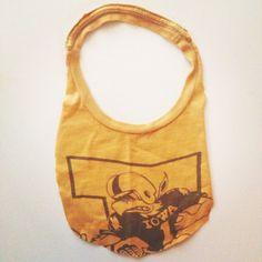 DIY No Sew Baby Bib from Old T-Shirt