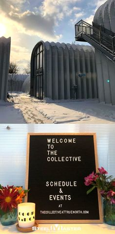 The Collective offers customers several different services under the arches of their Quonset Hut. They lead guided yoga classes, book clubs, empowerment circles, potlucks, and painting classes. It's the perfect place to relax and unwind.
