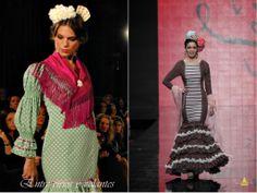 Mangas de #flamenca. Diseños de Rocío Olmedo y Patricia Bazarot.