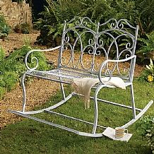 Victorian Rocking Chair £199 First appearing in the early 18th century, rocking chairs became so popular that wicker varieties were created for outdoor use. Reminiscent of late 19th century examples.