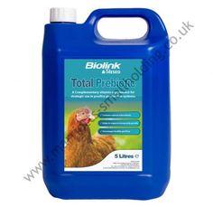 Total Prebiotic Poultry Vitamin Nutritional Supplement 5ltr - £71.50 ex. VAT