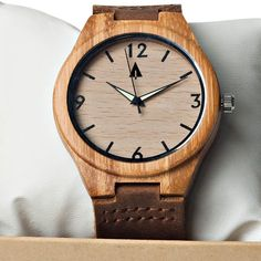 Tree Hut Men Leather Watch