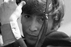 John Lennon photographed by Ringo Starr