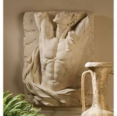 The Torso Of Adonis Bas Relief Wall Frieze Ng34254